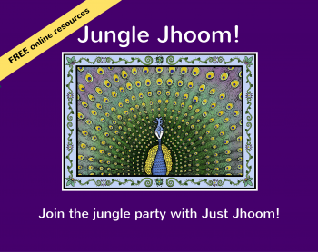 Jungle Jhoom! Illustrated Book